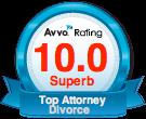 Avvo Top Rating Badge
